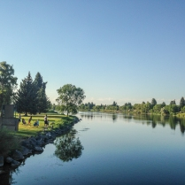 Snake River and Idaho Falls Greenbelt