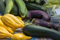Colorful Vegetables at Idaho Falls Farmers Market
