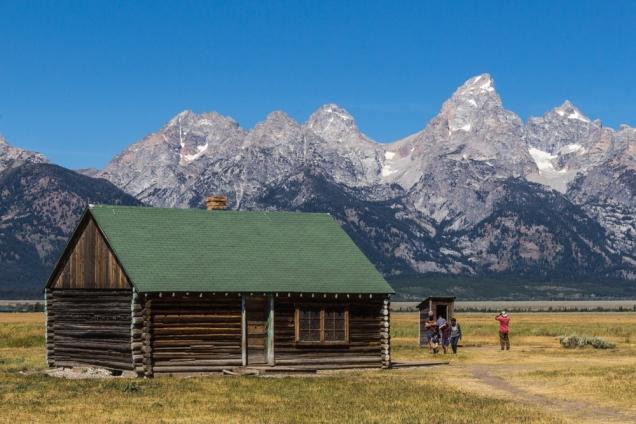 Mormon Row Settlement Cabin