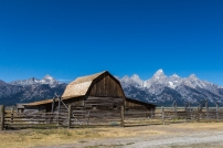 Mormon Row Settlement Barn