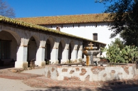 Mission San Miguel Courtyard