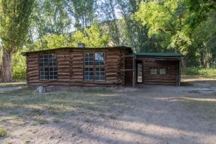 Josie Morris Cabin Exterior