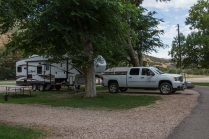 Campsite at Big Mountain Campground