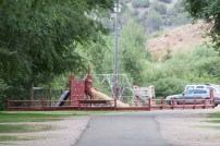 Playground at Big Mountain Campground