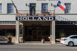 Holland Hotel Alpine TX