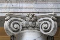 Detail at Top of Column