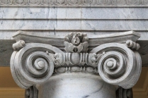 Detail at Top of Column