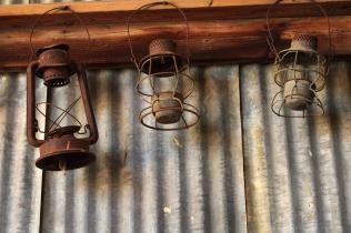 Three Oil Lamps