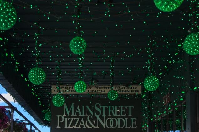Hanging Green Balls