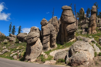Family of Boulders at Eye of the Needle