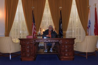 Nixon's Oval Office Replica