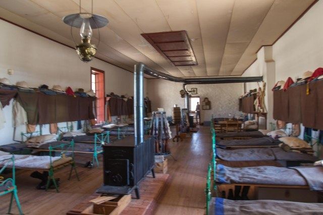 Barracks at Fort Davis National Historic Site