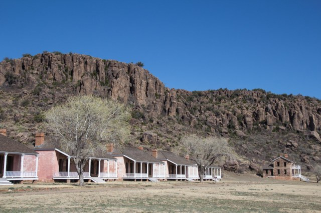 Officer housing at Fort Davis National Historic Site