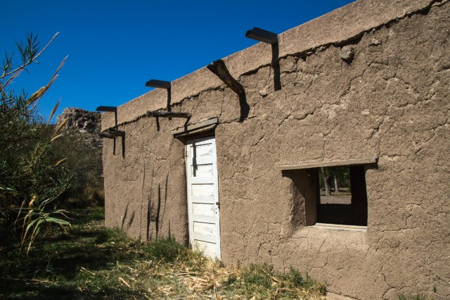 Old adobe building