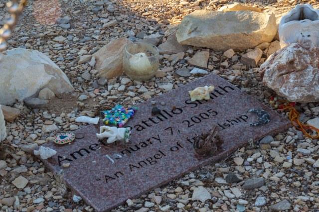 Gravesite headstone