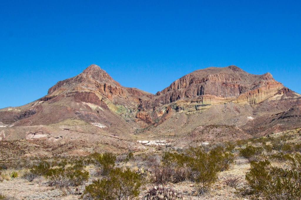 Goat Mountain and desert