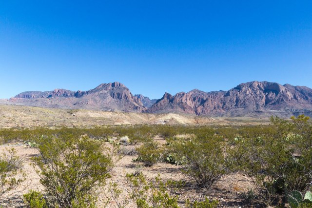 Chisos Mountain Range