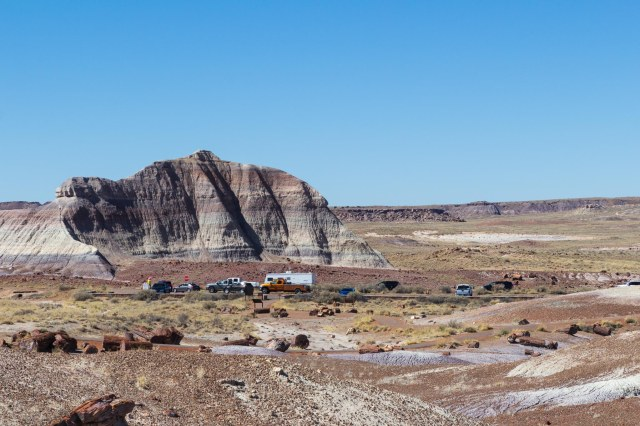Martha's Butte at Petrified Forest