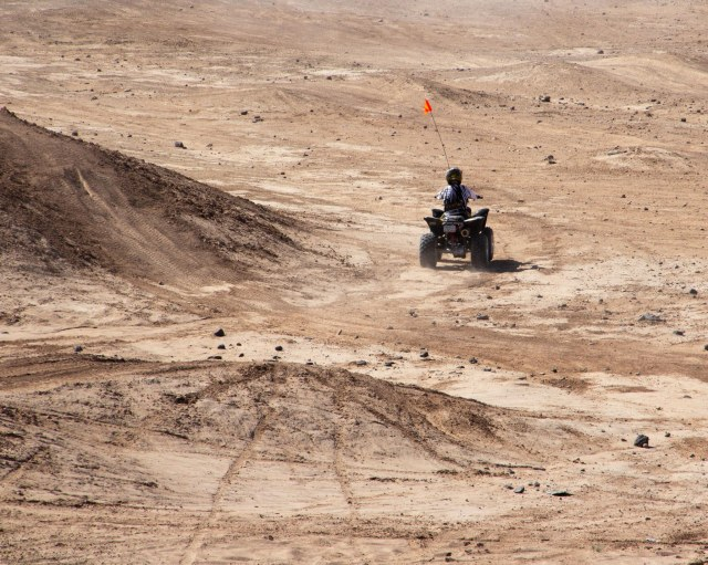 ATV in the desert