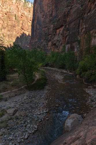 Virgin River with low water level