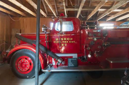 Bishop Rural Fire Dist. R-2 fire truck