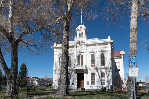 Victorian era Mono County Courthouse